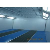 Quality 6.9 Meter Centrifugal Fan Industrial Spray Booth Coating Car Painting Room for sale