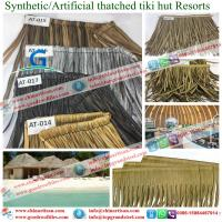 Quality new building material Synthetic resin tiles  artificial Synthetic Thatch Roofing for Cottage for sale