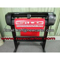 China 24'' Cutting Plotter With AAS Printed Adhesive Vinyl Sticker Cutter  Label Cutting Machine on sale