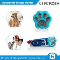 Buy mini smallest waterproof IP66 gps pet tracker for cat dog tracking device at wholesale prices