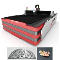 Buy 700 Watt Stainless Steel Fiber Laser Cutting Machine 0.2mm - 10mm Cutting Thickness at wholesale prices