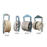 Quality Cast Steel Sheave Wire Rope Pulley Block / Heavy Duty Pulley Block CE Approval for sale