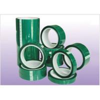 Quality 0.06mm/0.08mm High Temperature Green PET Tape with customed width for sale