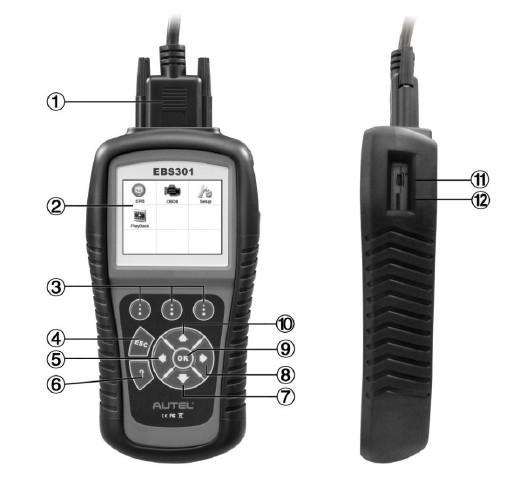 Autel MaxiService Electronic Brake Service Tool EBS301