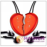 China 2GB Cute Pretty Lover's MP3 Player with Touch Key pad Necklace MP3 on sale