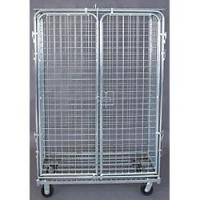 Quality custom Security Logistic Cart, Wire, Chrome, 24 x 48 In, Finish Chrome for sale