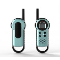 Buy cheap Easy To Use Handheld Walkie Talkies , ABS Camping / Hiking Mini UHF Walkie from wholesalers