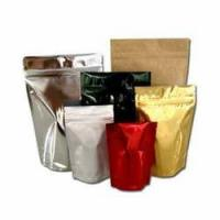Buy Food grade Plastic Resealable Aluminum foil pouches packaging Stand Up Pouch for at wholesale prices