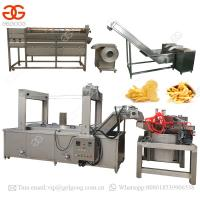 Quality Automatic Potato Chips Production Line Frozen French Fries Making Machine for sale