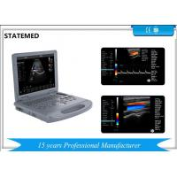 Quality 15 Inch Display Laptop Color Doppler Ultrasound Machine Probe Automatic Identification for sale