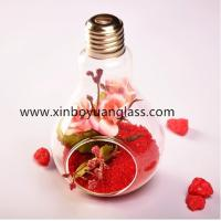 Buy cheap Hanging bulb glass vase air plant votive from Wholesalers