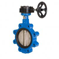 Quality Standard Size Concentric Butterfly Valve Double Flanged Butterfly Valve for sale