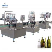 Buy cheap 240 V 50 Hz 1 Phase Small Beer Filling Machine In - Build Bottle Tray Device from wholesalers