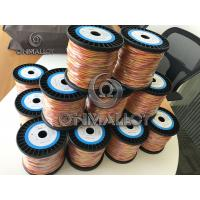 Quality Dia 0.67mm Type K KP KN Thermocouple Wire / Cable 500 Degree Fiberglass for sale