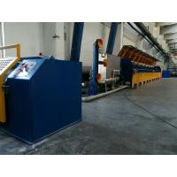 Quality Fully Automatic Straight Line Wire Drawing Machine With Double Inverter Control for sale
