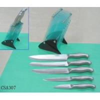 Quality The Knife Set with A Acrylic Block for sale