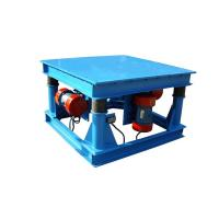 China Flat Deck Electric Motor Vibrating Table Shaking Platform For Concrete Moulds Machine on sale