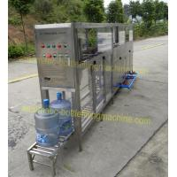 China AC 380V Fully Automatic Filling Machine , Pneumatic System Water Gallon Filling Machine on sale