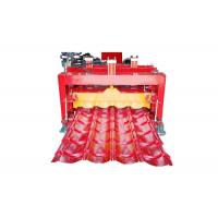 Quality Roofing Step Tile Roll Forming Machine Size 6.5*1.5*1.5m Productivity 1-4 M/Min for sale
