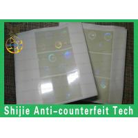 Quality the fastest shipping best quality FL hologram overlay square corner  no bubbles for sale