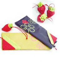 Quality strawberry nylon shopping bag for sale