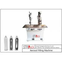 China Electronic Control Aerosol Filling Machine , Bag On Valve Filling Machine on sale