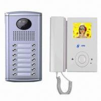 Quality Intercom Doorbell System Kit with Remote Unlocking Function, Supports 2 Indoor Monitors for sale