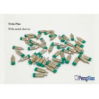 Quality Green Rubber Cap Dental Dowel Pins , Precise Fitting Locating Dowel Pins for sale