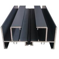 China Thin Wall Aluminum Curtain Wall Profile For Construction , Mill Finished on sale