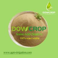 Quality DOWCROP Hot sale High qulity AMINO ACID CHELATED IRON 100% water soluble fertilizer Organic fertilizer for sale
