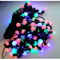 Quality small round led ball string light for sale