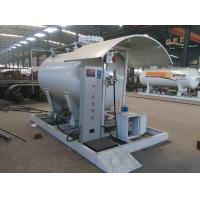 Quality 5tons skid lpg gas filling station for sale, 12,000L skid mounted propane gas plant for sale
