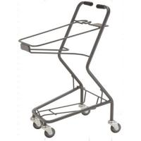 Buy cheap Shopping Basket Trolley Retail Grocery Store Baskets On Wheels 565×490×930 mm from wholesalers