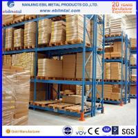 Quality CE-Certificated High Loading Capacity Pallet Racking / Steel Pallet Rack for sale