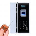 Quality Digital Touch Screen Glass Door Lock Smart Card Fingerprint Unlock For Commercial Department for sale