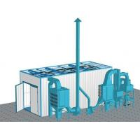 Quality Rovan Dust Cleaning Sand Blasting Room , Abrasive Blast Cabinet Customized Power for sale