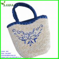 Quality  straw lady bag for sale
