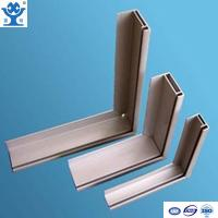 Quality Silver anodized matt aluminum extrusion solar panel frame for sale