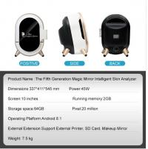 Quality 15 Million Pixels 3D Skin Scanner PDF Print With RGB / UV / PL Light for sale