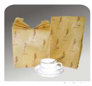 Quality Food Packaging Sharp Bottom Paper Bag for sale
