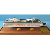 Quality Oceania Cruises Riviera Boat Cruise Ship Model With Original Engraved Corridor for sale