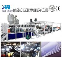 Quality high impact resistance pmma sheet extrusion line for sale