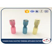 Quality Female Heat Shrink Wire Terminals Electrical Crimp Terminal 22-10 AWG for sale