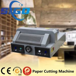 Quality SG330 desktop electric paper cutting machine paper guillotine paper cutter 320mm cutter for sale