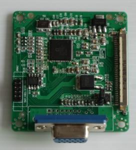 Quality 18- bit lvds to vga or dvi board (LDVGA01) for sale