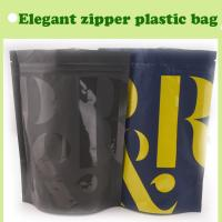 Quality high quality opp zipper bag/black stand up bag with good price/plastic bag with zip lock for sale