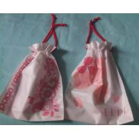 China Promotional Swimwear Drawstring Plastic Bags With Double Ropes on sale