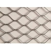 China Hand Made Stainless Steel Wire Rope Netting Versatile Oxidize Resisting on sale
