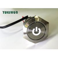 Quality Momentary Push Button Switch LED Illuminated 1NO 1NC IP67 Nice Touch Feeling for sale