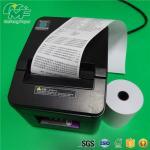 Quality Black Image Cash Register Thermal Paper Rolls Black Image Grade A Level High Brightness for sale